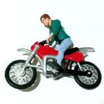 Terminator 2 1992 Tom Connor with motorcycle action figure @sold@